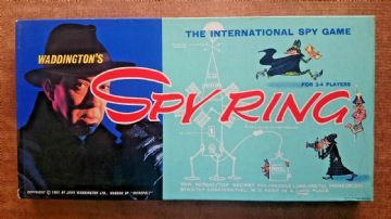 Spy Ring Game  by  Waddingtons (1965)